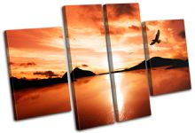 Bird Lake Sunset Seascape - 13-1815(00B)-MP17-LO